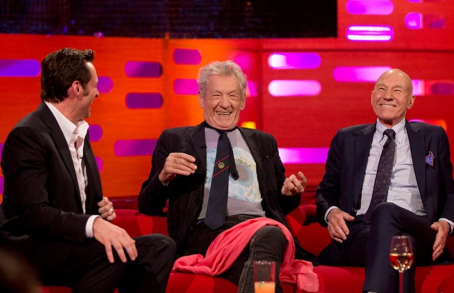 Hugh Jackman, Sir Ian McKellen, Patrick Stewart