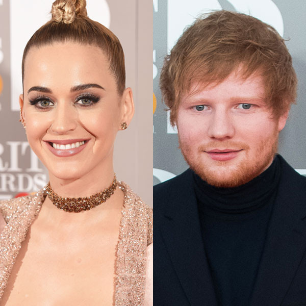 Katy Perry, Ed Sheeran