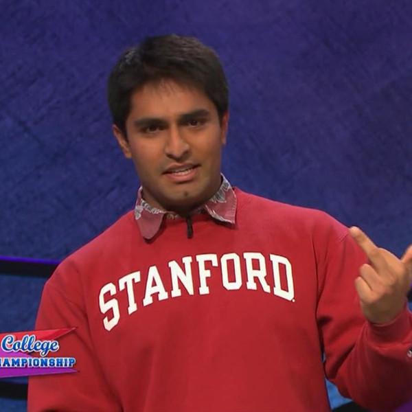 Viraj Mehta, Jeopardy!, Flipping the Bird