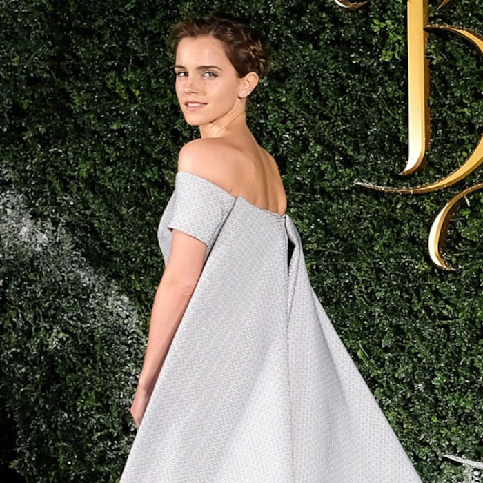 Emma Watson Looks Like A Real Life Disney Princess At The Beauty And Beast London Premiere