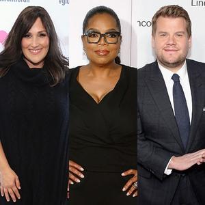 Oprah Winfrey, Ricki Lake, James Corden