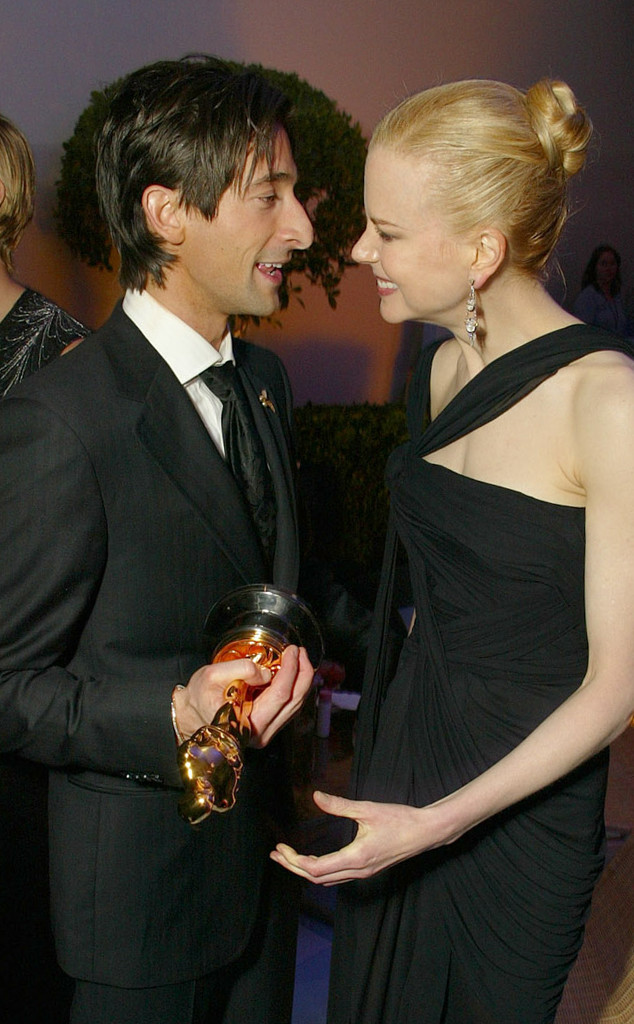 Adrien Brody, Nicole Kidman