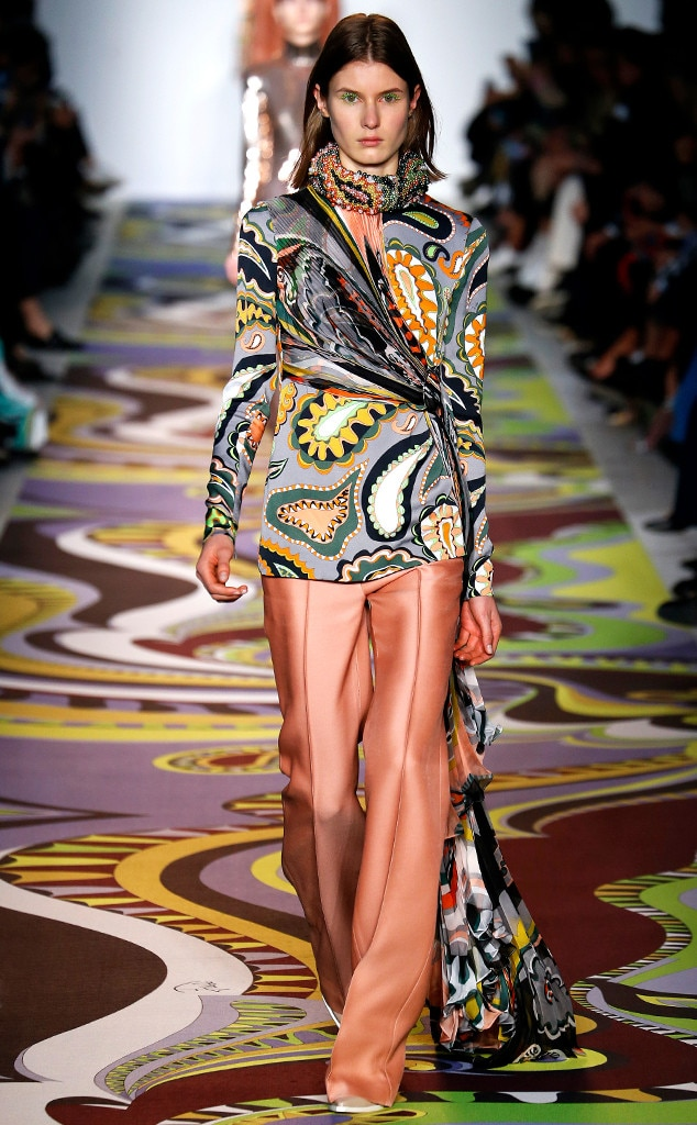 Emilio Pucci from Best Looks From Milan Fashion Week Fall ...