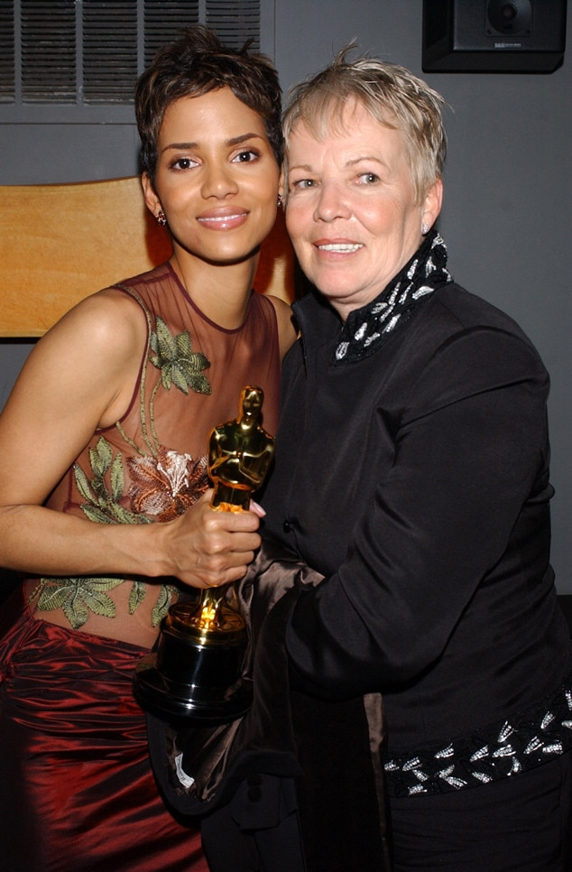 Halle Berry, Mother, Judith Ann Hawkins, 2002 Oscars