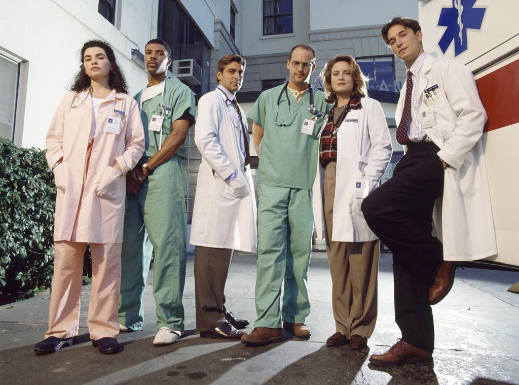E.R., Cast, Julianna Marguilies, George Clooney