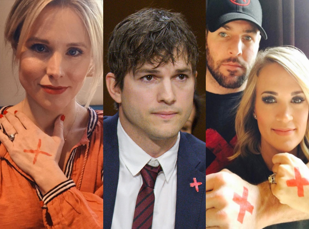End It, Kristen Bell, Ashton Kutcher, Carrie Underwood
