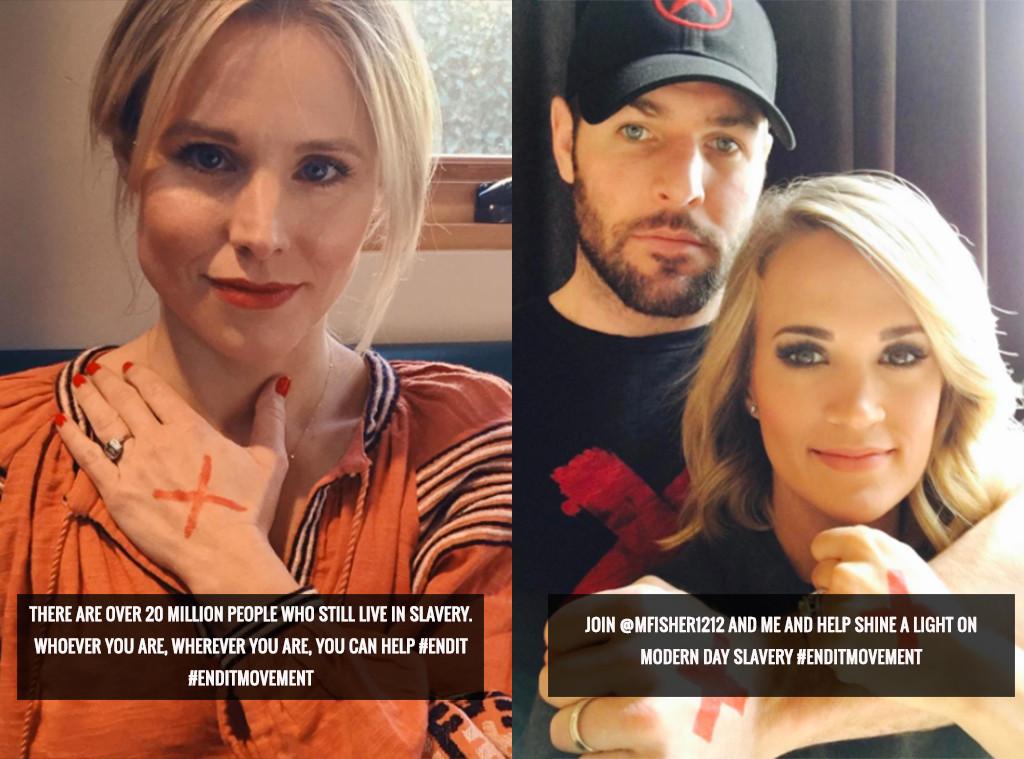 Carrie Underwood, Kristen Bell, End It