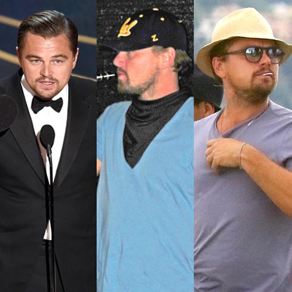 Leonardo DiCaprio, Past Year Style
