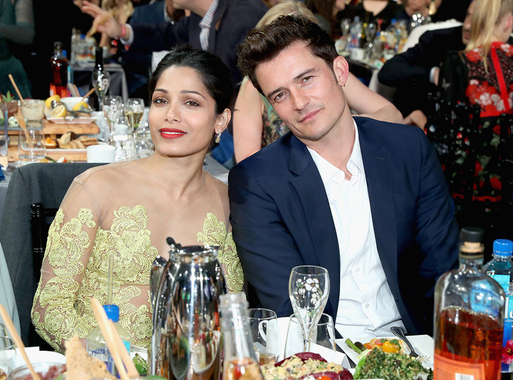 Freida Pinto, Orlando Bloom, 2017 Film Independent Spirit Awards, Show