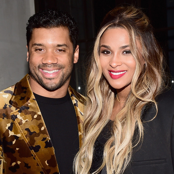 Ciara, Russell Wilson, Oscar Party