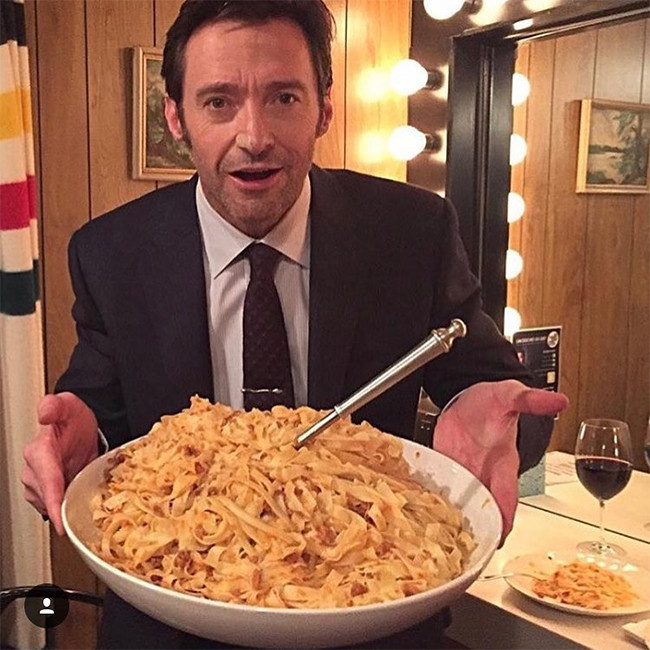 Hugh Jackman, Pasta