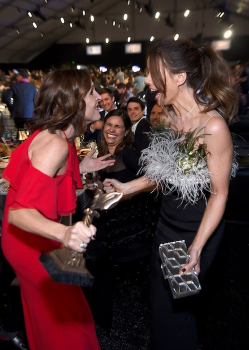 Molly Shannon, Kate Beckinsale, 2017 Film Independent Spirit Awards, Show