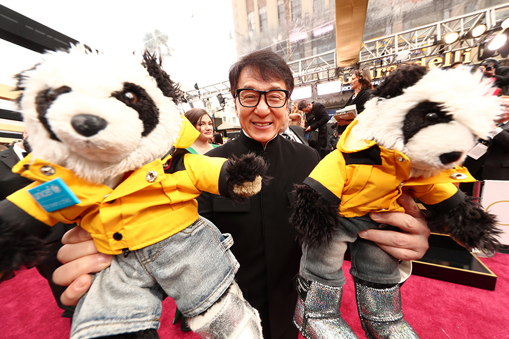 Jackie Chan, 2017 Oscars, Academy Awards, Candids