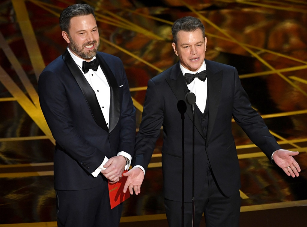 Ben Affleck, Matt Damon, 2017 Oscars, Academy Awards, Show