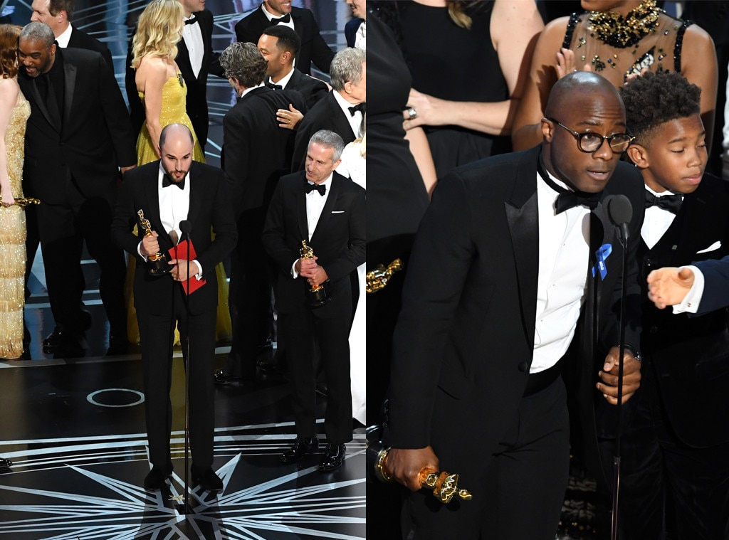 Moonlight, La La Land,2017 Oscars, Academy Awards, Winner