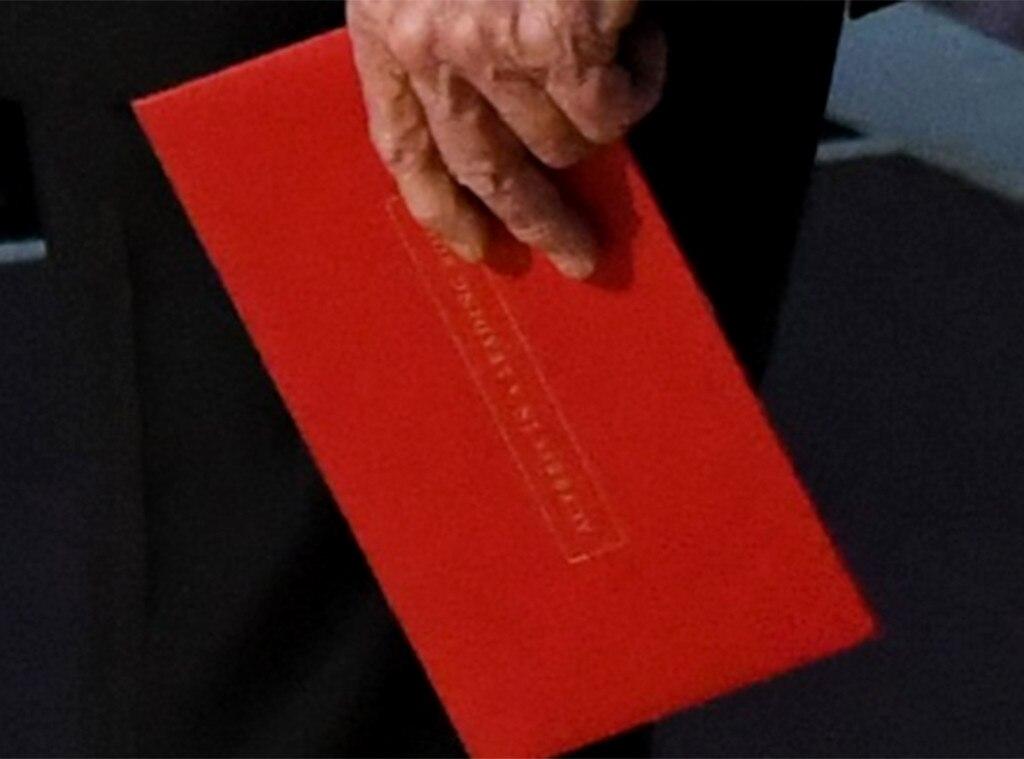 2017 Oscars, Envelope, Twitter