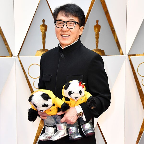 Read				Jackie Chan Brings Panda Bears as His Dates to the 2017 Oscars