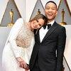 Chrissy Teigen, John Legend, 2017 Oscars, Academy Awards, Candids
