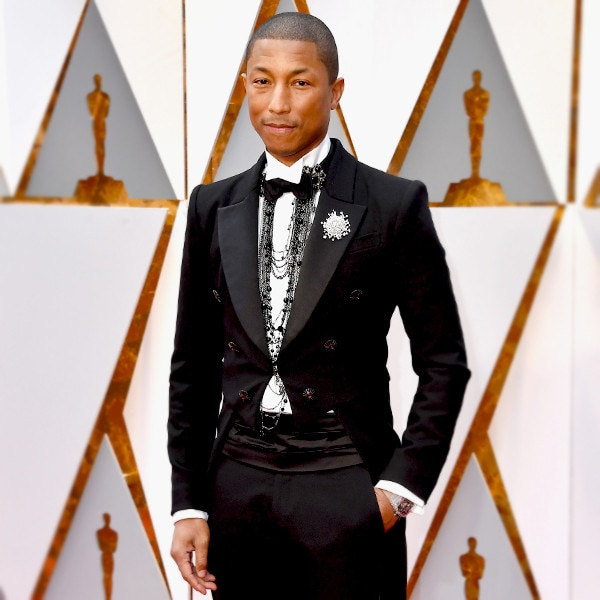 ESC: Pharrell Williams, 2017 Oscars, Best Dressed