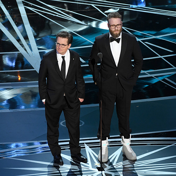 Seth Rogen, Michael J. Fox, 2017 Oscars, Academy Awards