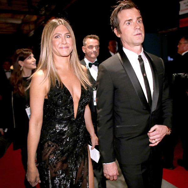 Jennifer Aniston, Justin Theroux, 2017 Oscars, Academy Awards, Candids
