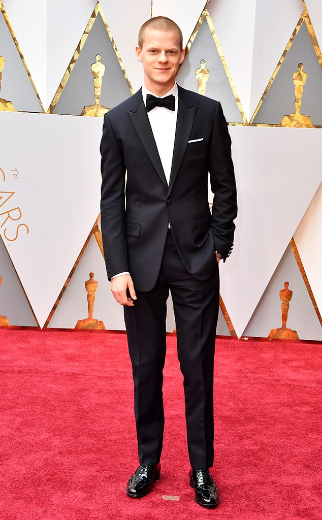 Lucas Hedges, 2017 Oscars, Academy Awards, Arrivals