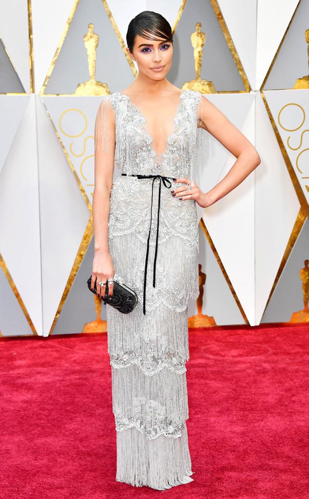 Olivia Culpo, 2017 Oscars, Academy Awards, Arrivals