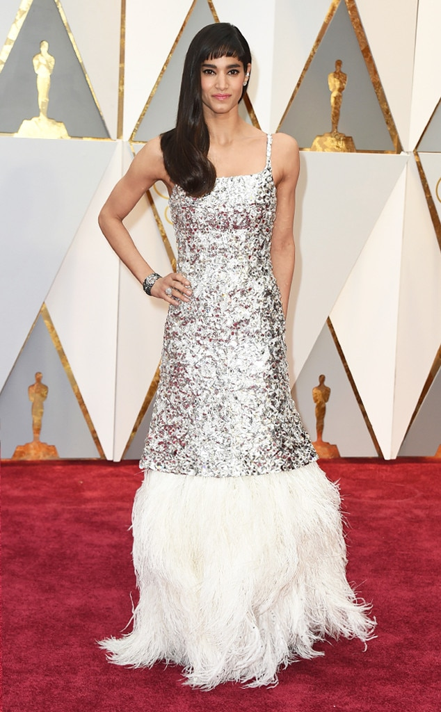 Oscars 2017 Red Carpet Arrivals Sofia Boutella, 2017 Oscars, Academy Awards, Arrivals