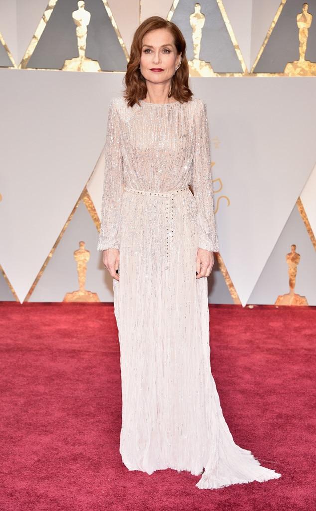 Isabelle Huppert, 2017 Oscars, Academy Awards, Arrivals