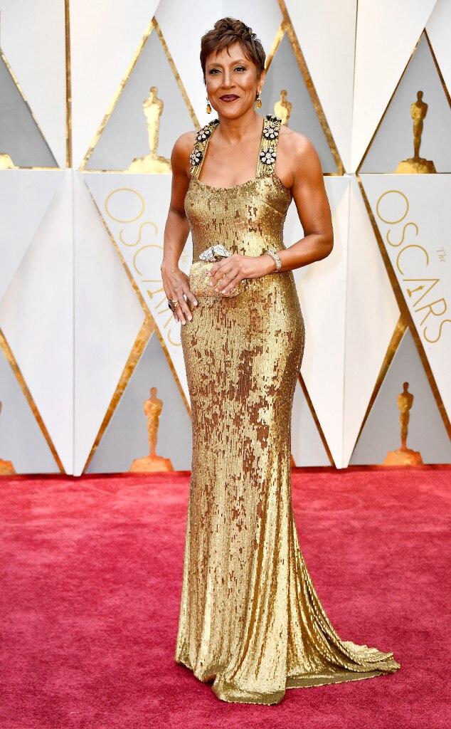 Robin Roberts, 2017 Oscars, Academy Awards, Arrivals