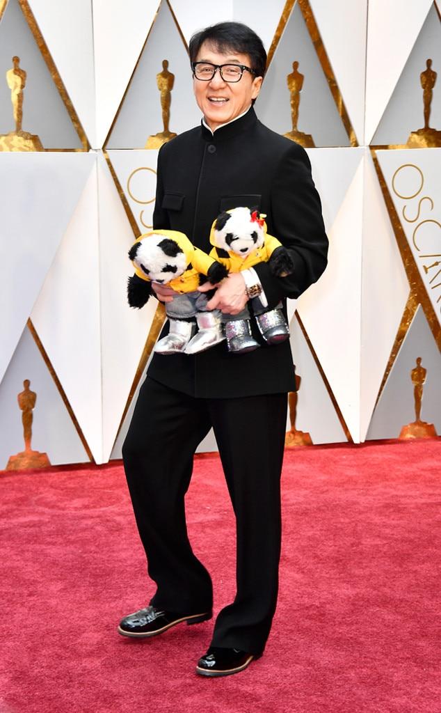 Jackie Chan, 2017 Oscars, Academy Awards, Arrivals