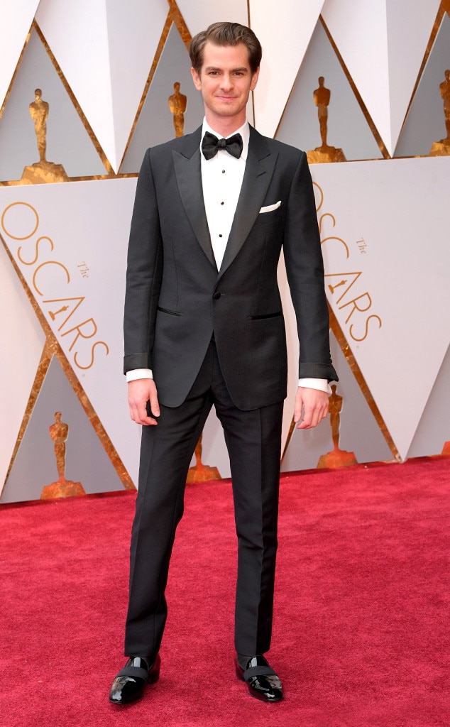 Andrew Garfield, 2017 Oscars, Academy Awards, Arrivals