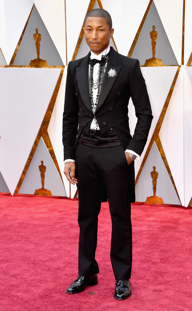 Pharrell Williams, 2017 Oscars, Academy Awards, Arrivals