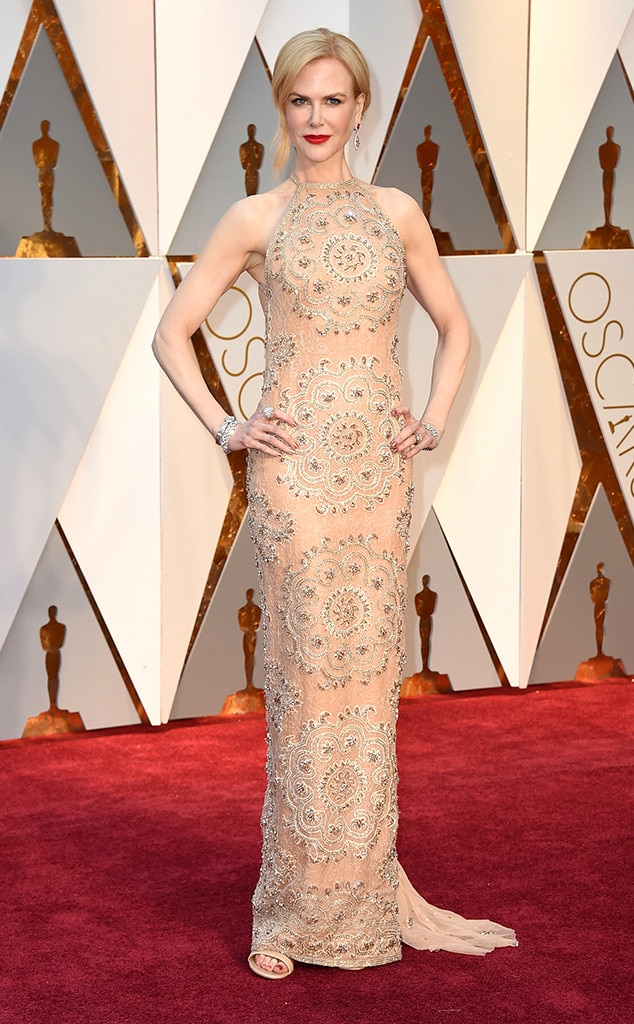 Oscars 2017 Red Carpet Arrivals Nicole Kidman, 2017 Oscars, Academy Awards, Arrivals