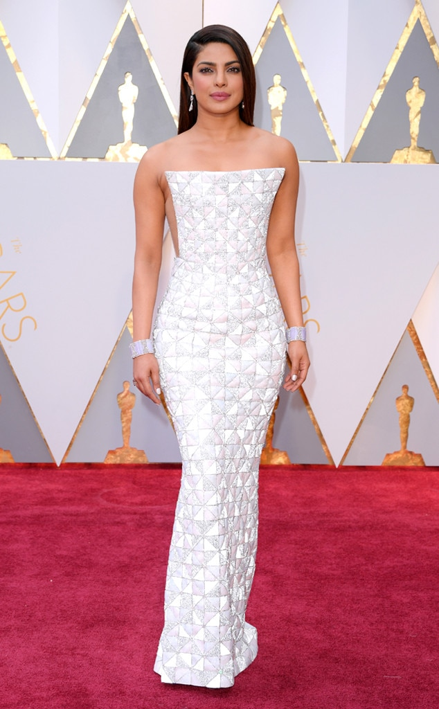 Oscars 2017 Red Carpet Arrivals Priyanka Chopra, 2017 Oscars, Academy Awards, Arrivals