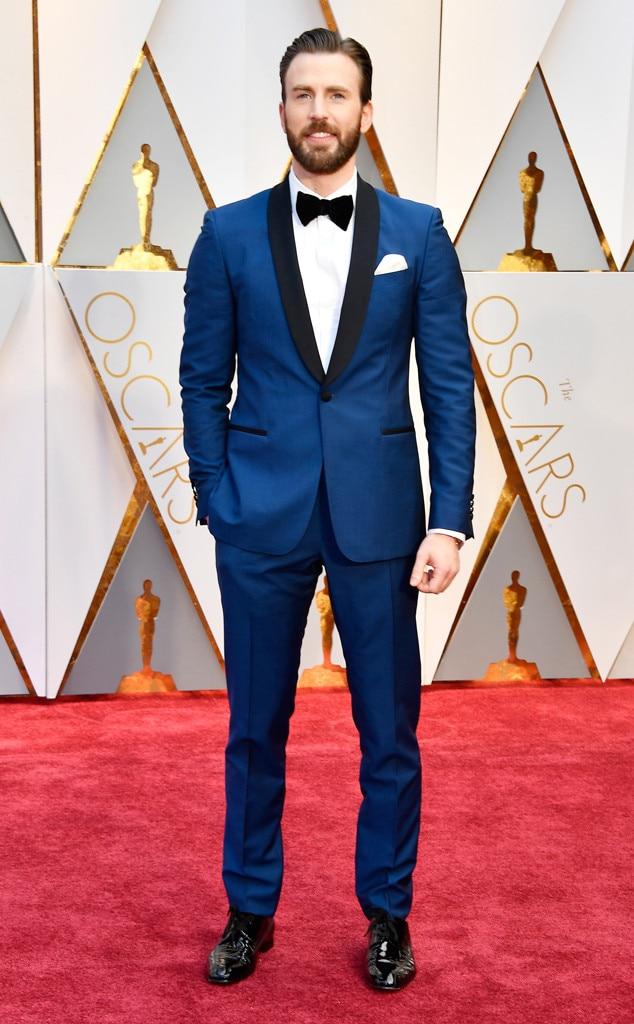 Chris Evans, 2017 Oscars, Academy Awards, Arrivals