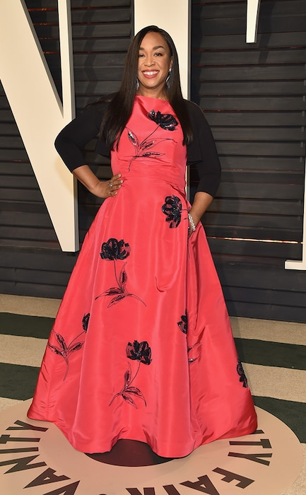 Shonda Rhimes, 2017 Oscars, Vanity Fair After Party