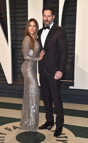 Sofia Vergara, Joe Manganiello, 2017 Oscars, Vanity Fair After Party