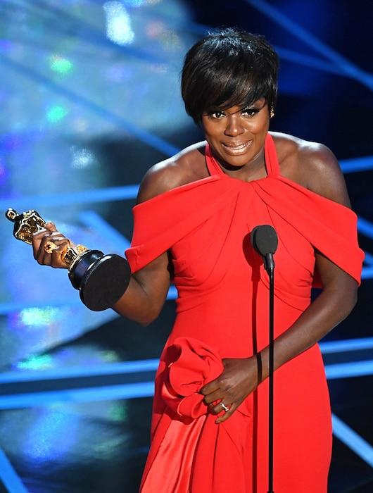 Viola Davis, 2017 Oscars, Academy Awards, Winners