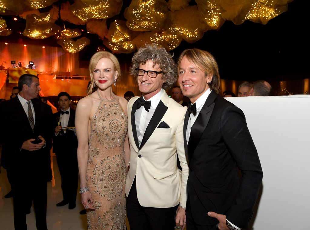 Nicole Kidman, Marc Malkin, Keith Urban, 2017 Oscars Party Pics, Governors Ball