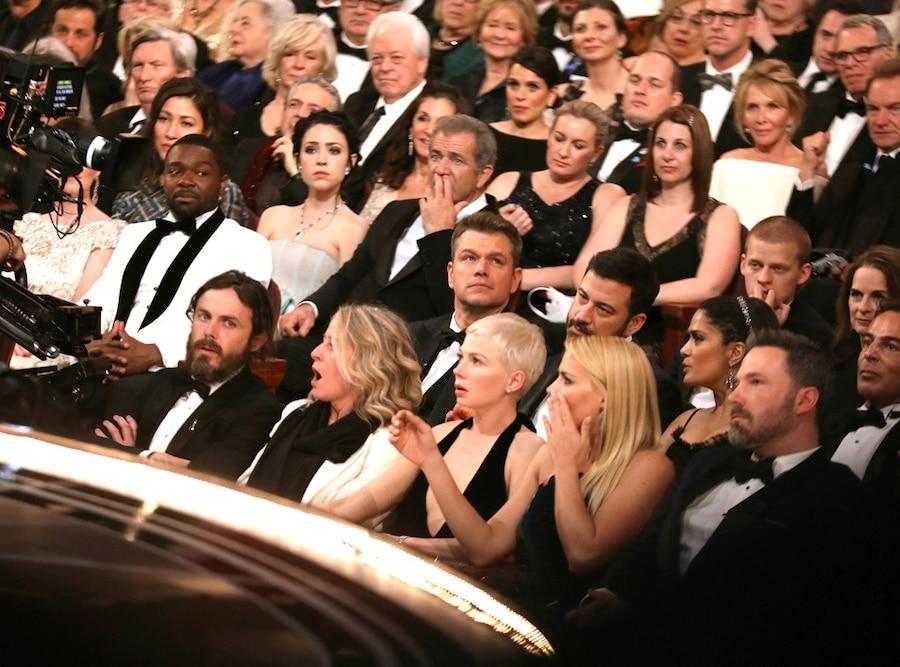 2017 Oscars, Academy Awards, Show, Reaction to Moonlight and La La Land flub