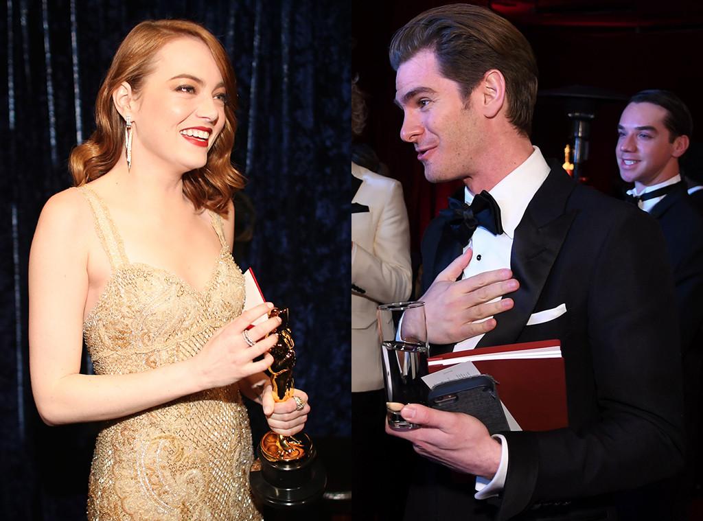 Emma Stone, Andrew Garfield, 2017 Oscars
