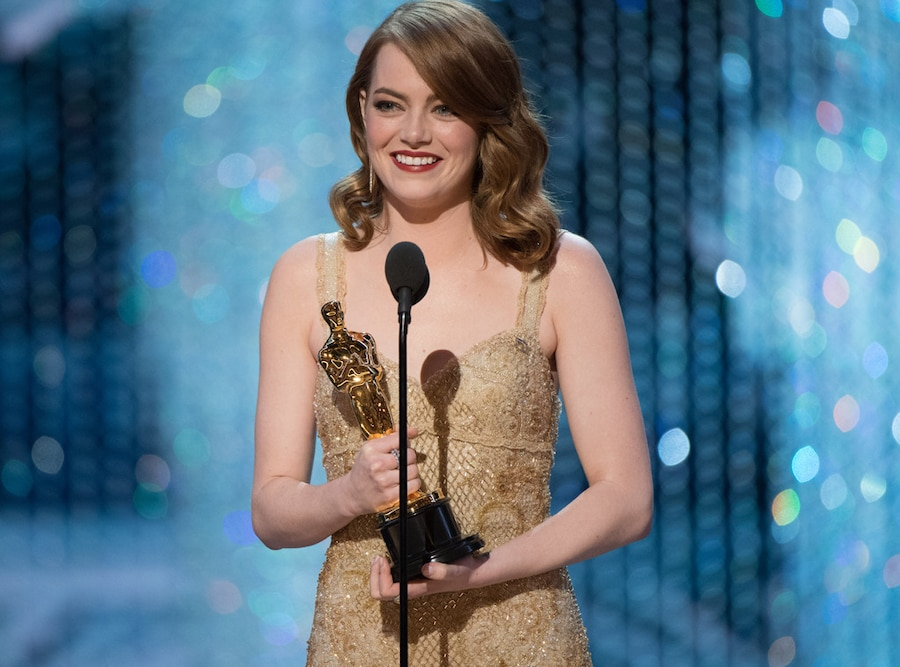 Emma Stone, 2017 Oscars, Academy Awards, Winners