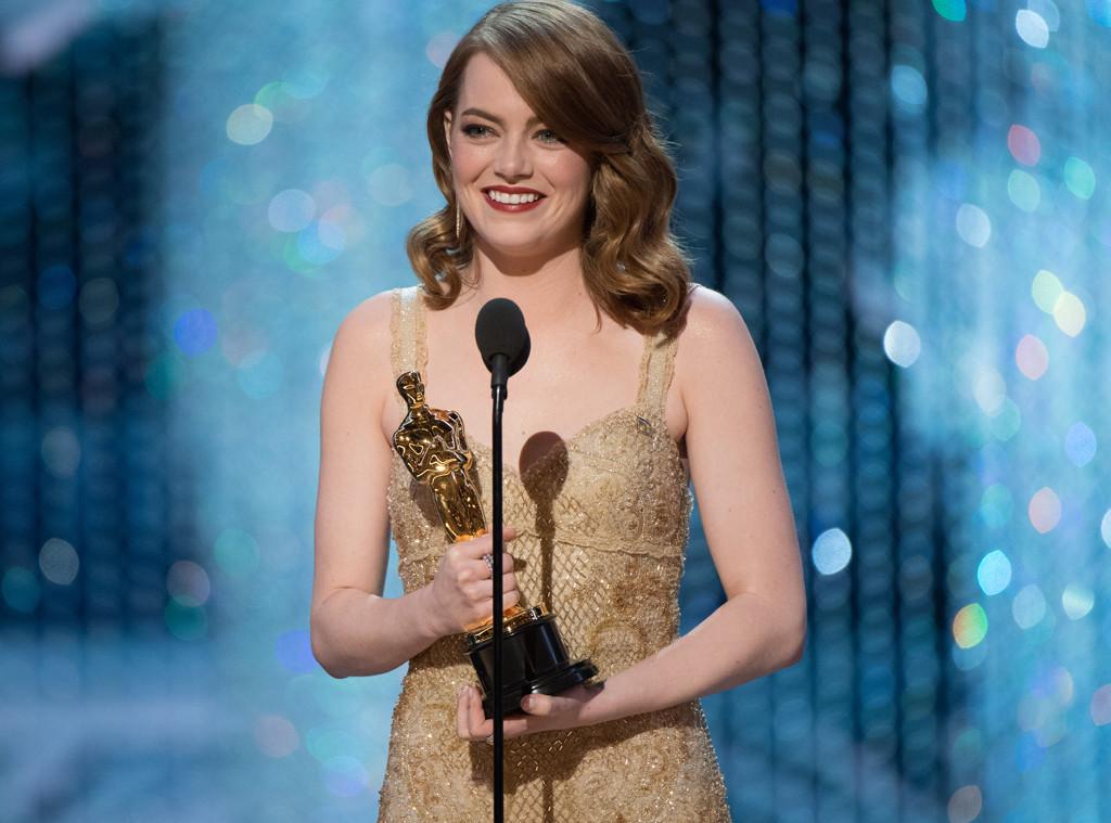 Emma Stone, 2017 Oscars, Academy Awards, Winners