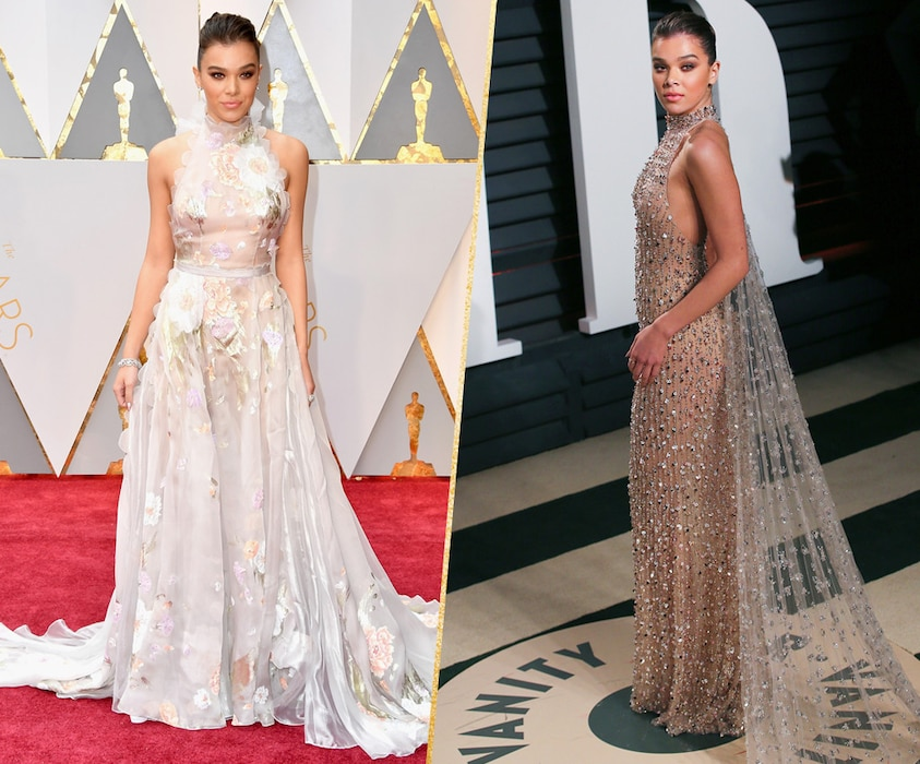 ESC, Hailee Steinfeld, 2017 Oscars, After-Party Looks