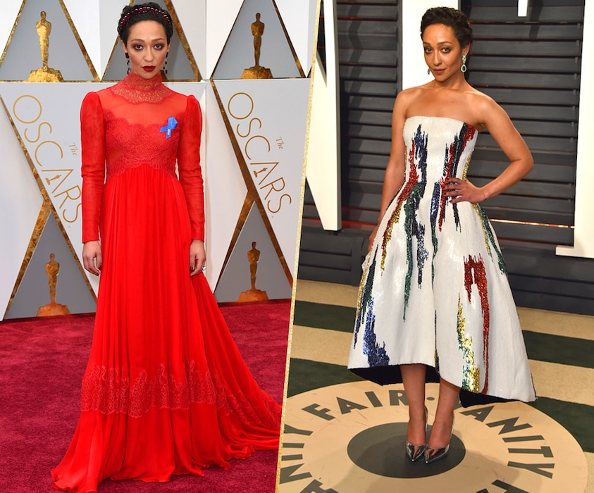ESC, Ruth Negga, 2017 Oscars, After-Party Looks