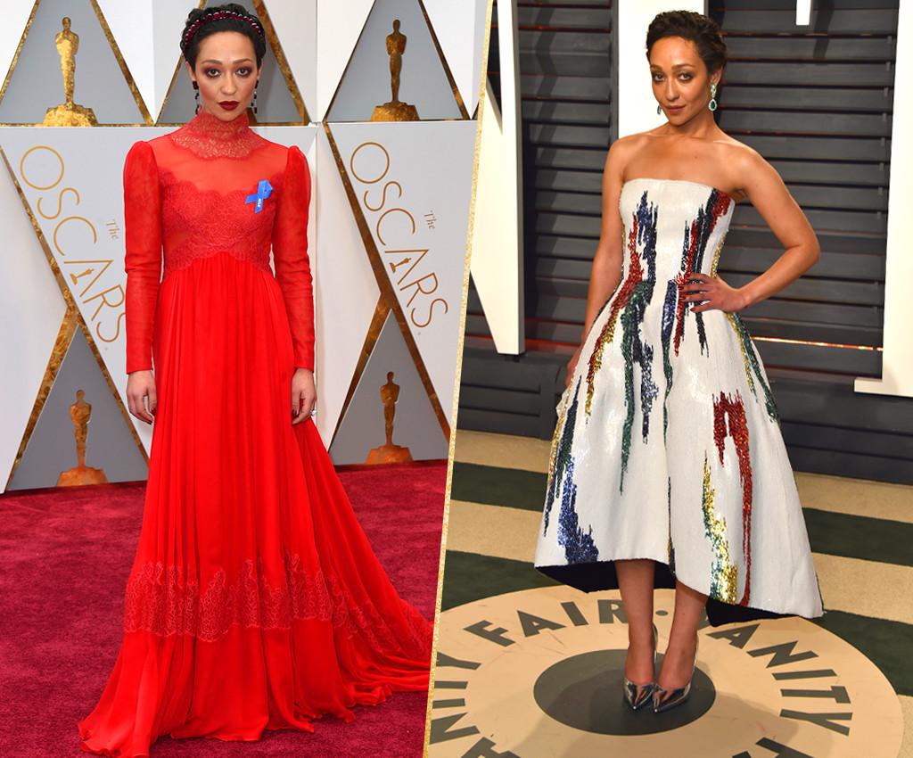 ESC, Ruth Negga, 2017 Oscars, After-Party Looks