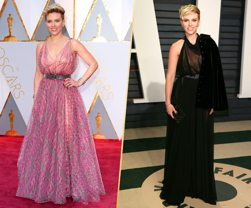 ESC, Scarlet Johansson, 2017 Oscars, After-Party Looks