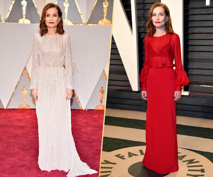 ESC, Isabelle Huppert, 2017 Oscars, After-Party Looks