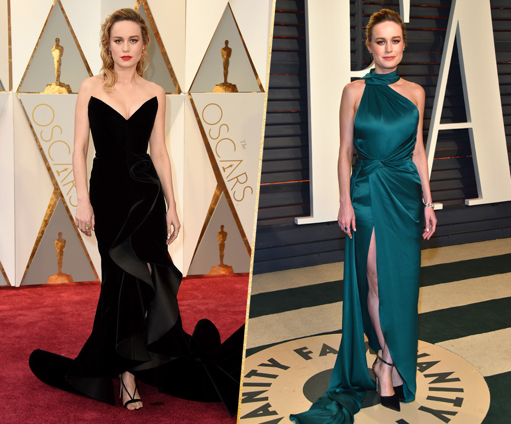 ESC, Brie Larson, 2017 Oscars, After-Party Looks